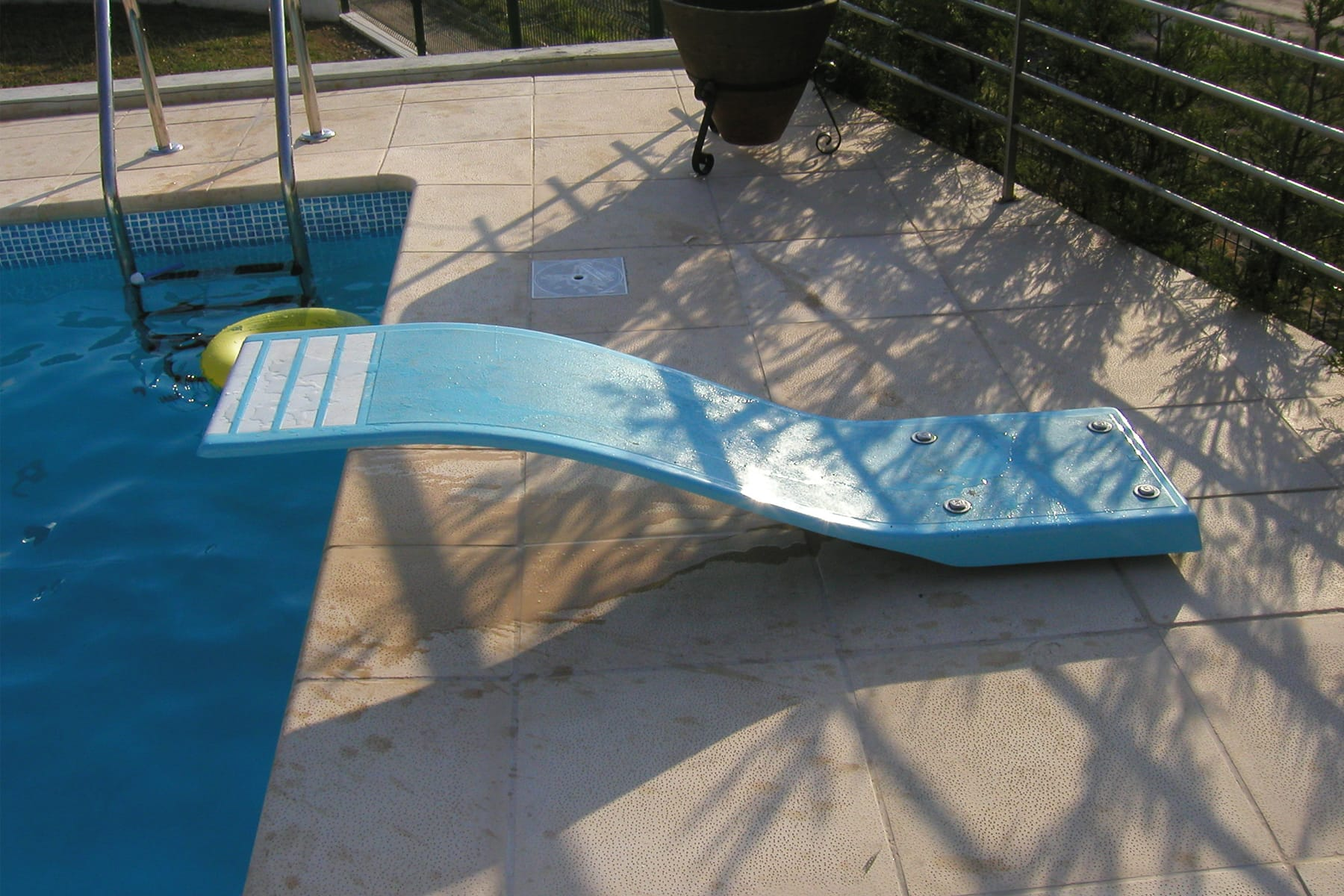 Prancha para piscina